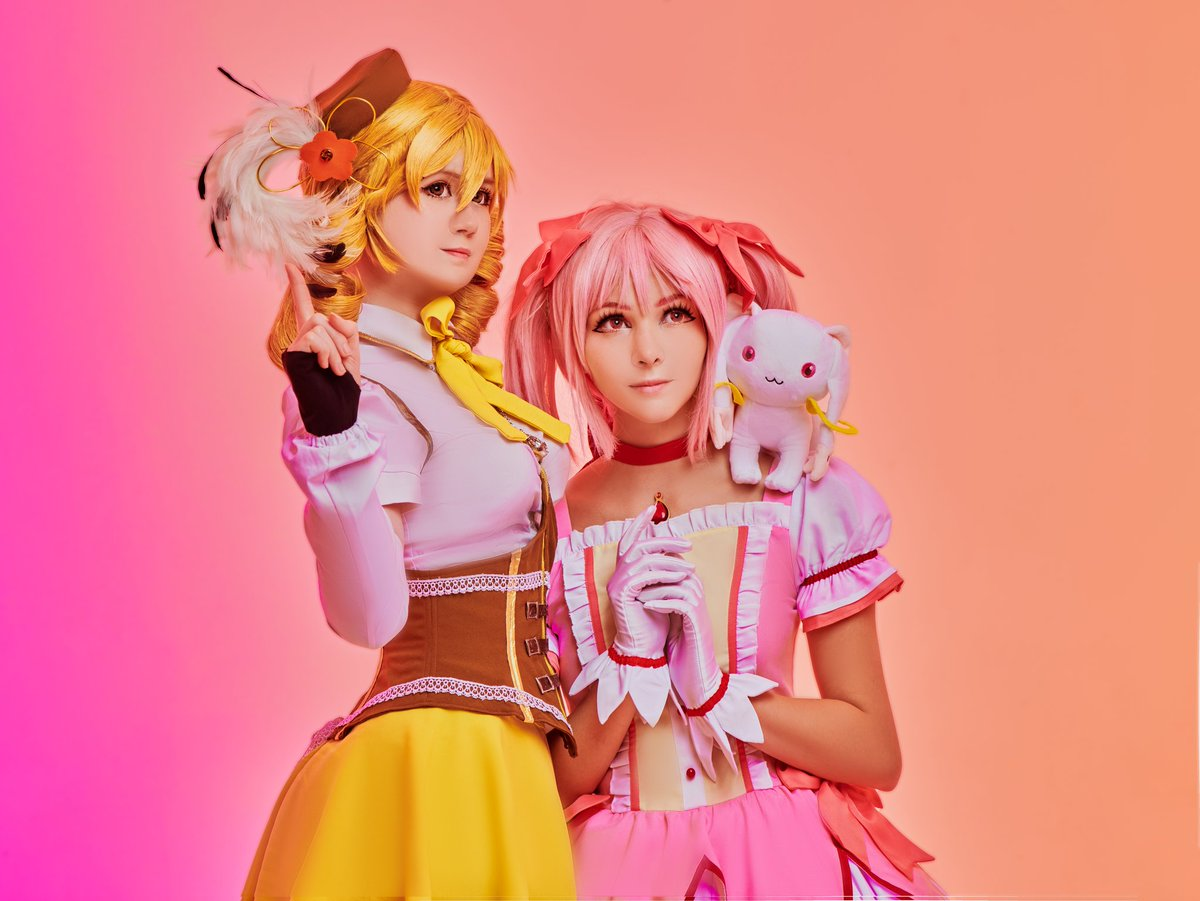Sweet #madokamagica cosplay together with lovely @tsuki_des :3 https://t.co/64qULzoDQE