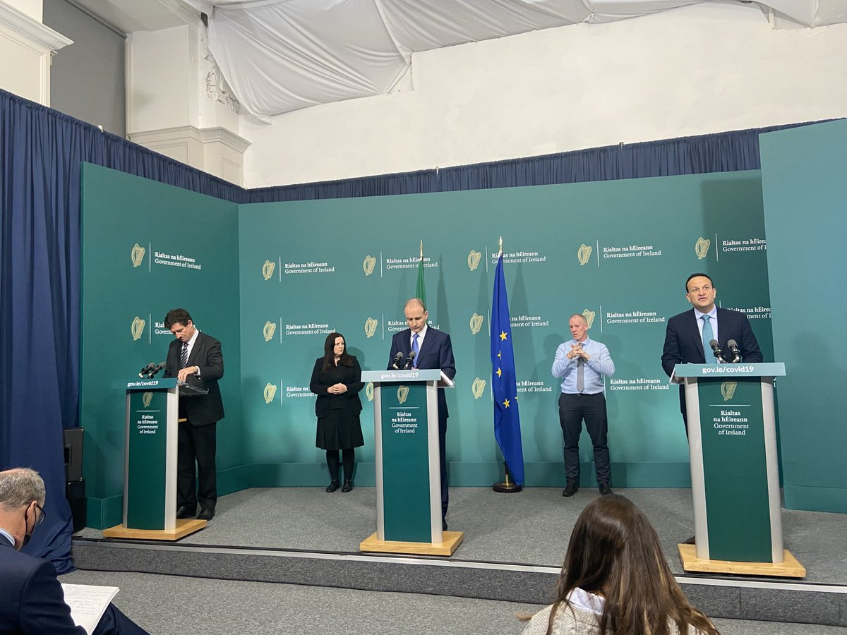 Press conference now. Tanaiste urges employers to avail of the wage subsidies and to keep employees on the books for as long as possible https://t.co/4uYWzEP2Yj