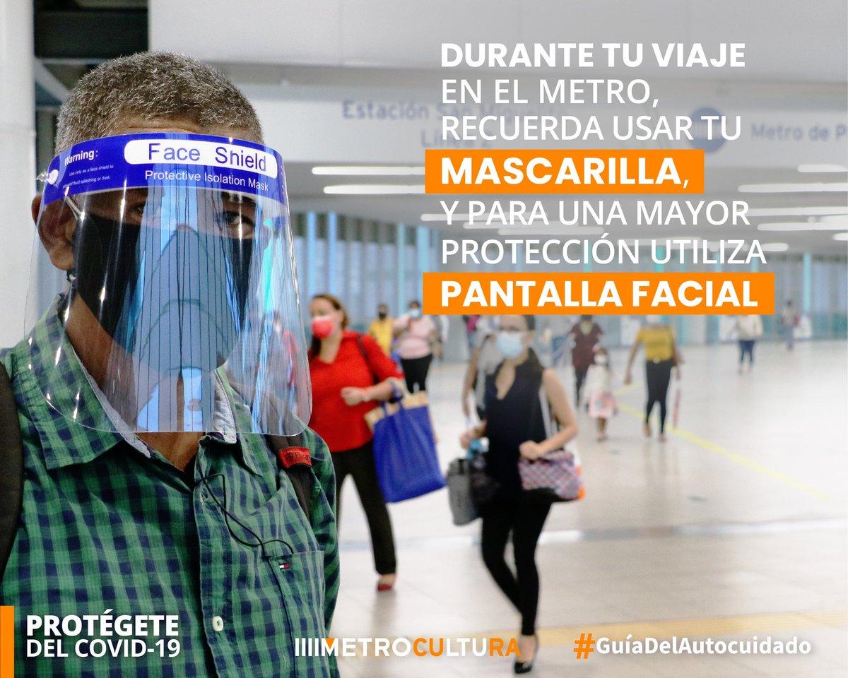 """""""Cuidarnos es responsabilidad de todos""""  Protégete del #COVID19 Sigue la #GuíadelAutocuidado🇵🇦  #Metrocultura https://t.co/rlTUzIP0B8"""