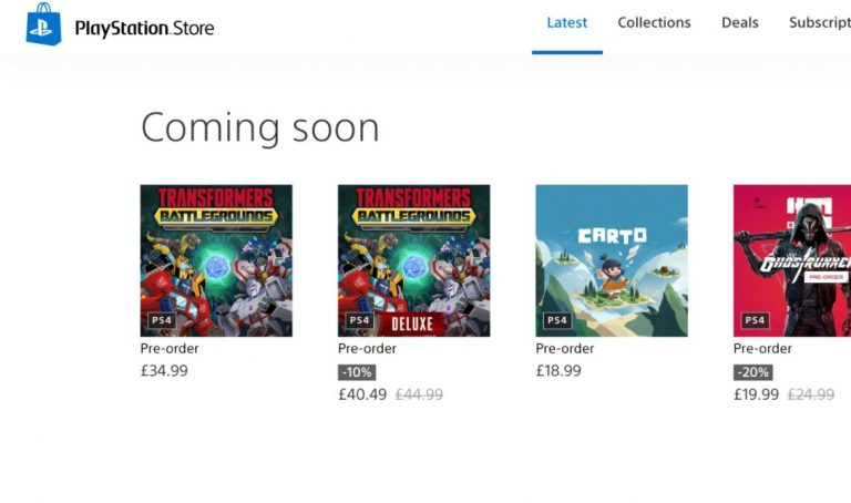 Here Is Your First Look At What The New Web PlayStation Store Redesign Looks Like https://t.co/tKQWTaK5a2 #PS4 #PS5 #PlayStationStore #PlayStationStoreRedesign #Sony #News https://t.co/m3XEugazgn