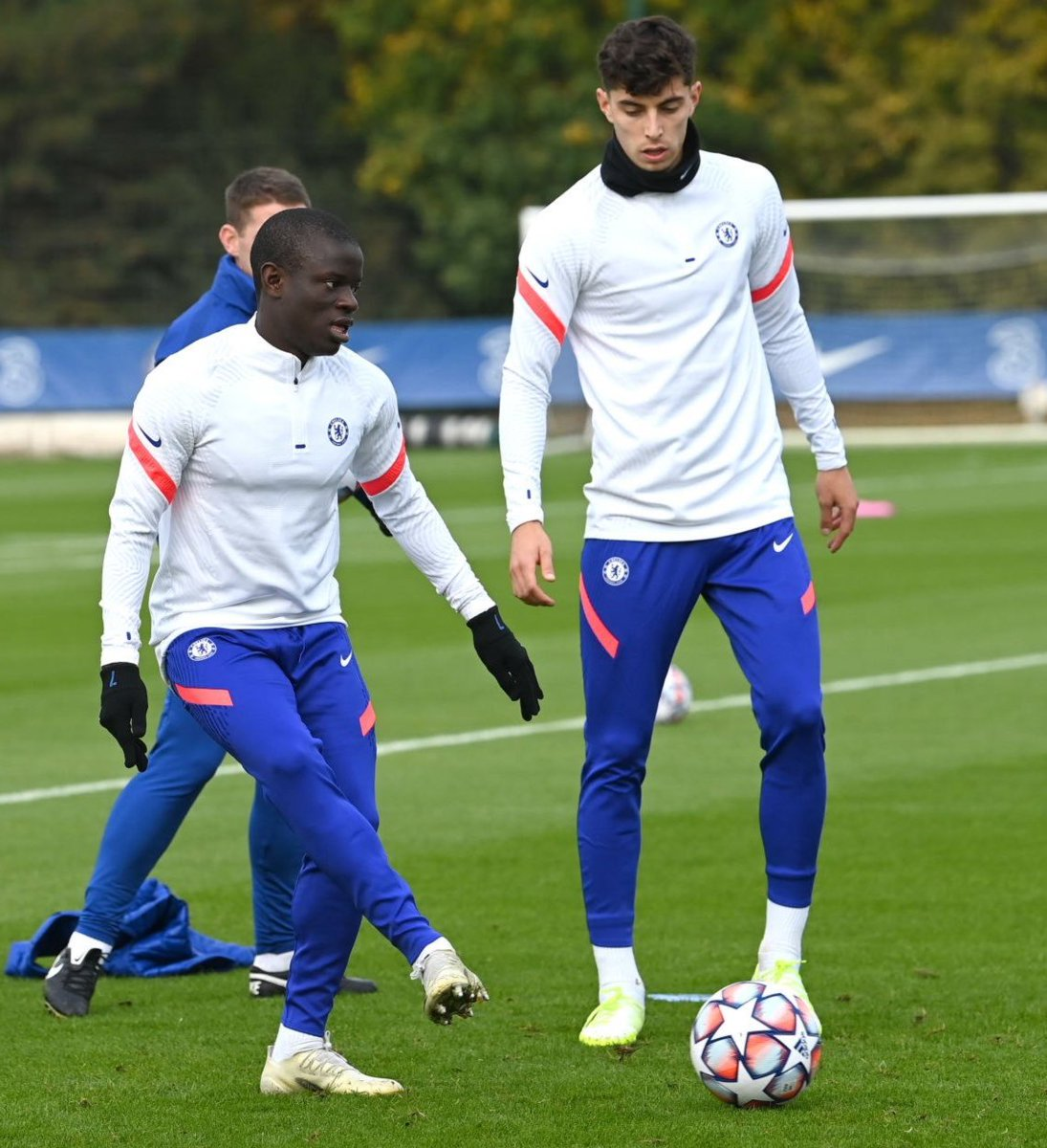 Kante x Havertz  Baller x King   #CFC #UCL https://t.co/TkJdwJnPgr