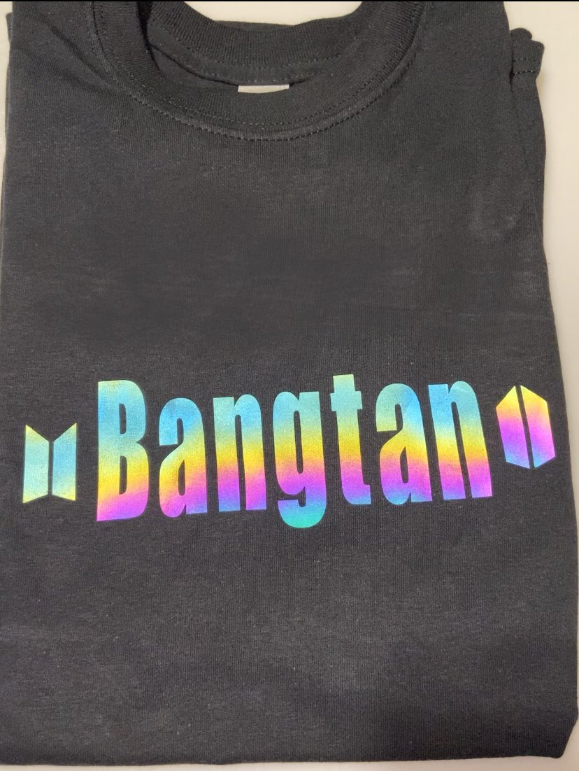 New Holographic shirts available now!✨ we offer either Bangtan or any of the members names 💜   #BTS #Dynamite18thWin #BTS1onHot100 #Dynamite #NAMJOON #JIN #yoongi #hobi #jimin #taehyung #jungkook https://t.co/Ps3JcnwmgH