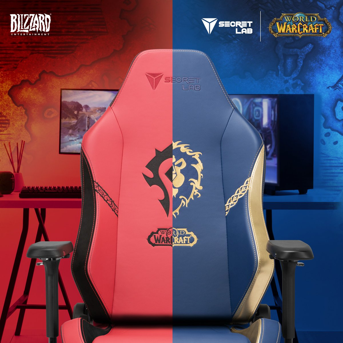 Wealthyman - Happy Halloween! My spooky friends at  @secretlabchairs have conjured me a World of Warcraft themed chair to giveaway. Details below ⬇️  🎃Follow me on Twitter and Twitch so I can DM the winner 👻Like/RT  🪦 Horde or Alliance? Comment below  💀ENTER:   #ad