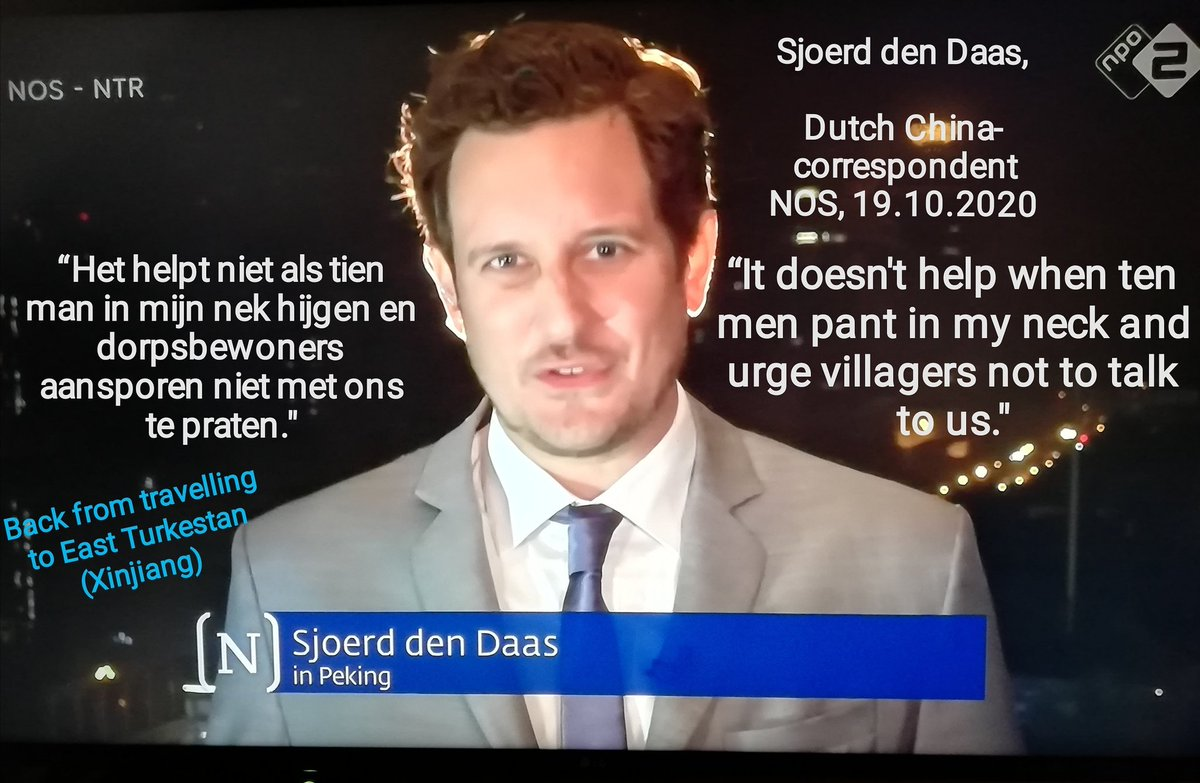 #Nieuwsuur - 19.10.2020 (9.30 pm, incl. videos, one of 8 min.) 🇳🇱  #SjoerdDenDaas,  back from travelling to #EastTurkestan (#Xinjiang)   #China builds #factories next to #DetentionCamps, eventually for #ForcedLabour  #Uyghurs #Oeigoeren  https://t.co/52jmcjxKY2 https://t.co/tzZXdK3nlx