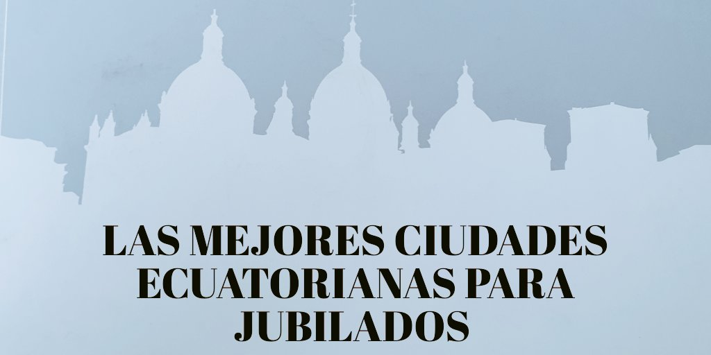 Estas ciudades ecuatorianas escogen los jubilados extranjeros para vivir.   https://t.co/gRWqBEWXNw   #planespotting #avion #coronavirus #Ecuador #Colombia #venezuela #Perú #Chile #Bolivia #Argentina #Uruguay #Paraguay #Panamá #Brasil #CostaRica #ElSalvador #Usa https://t.co/LvVjx2Iocm