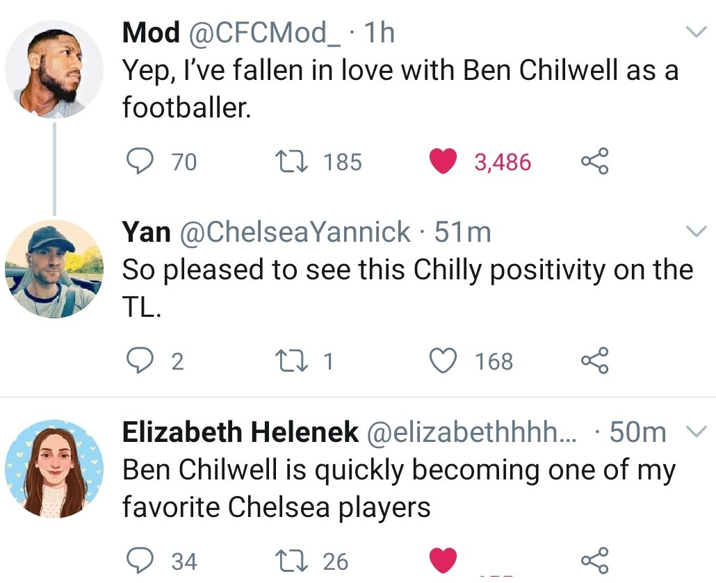 This right >>> (@BenChilwell is getting everything he deserves). #CFC https://t.co/ndJXOIOr6F