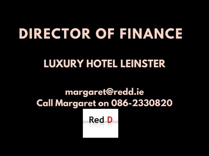 Red D have a wonderful opportunity for a Director of Finance for a leading Hotel in Leinster.  #DirectorOfFinance #LuxuryHotel #LeinsterJobs #HotelJobs #HotelFinance #HotelAccounting #Job #Hospitality #ReddJobs https://t.co/ze9u1iBlh4