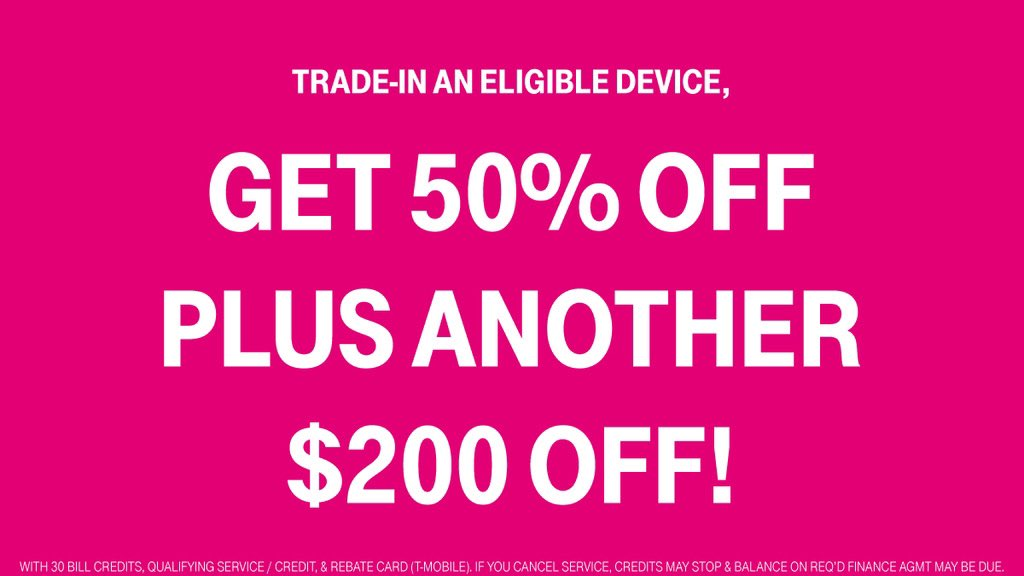 We have so many incredibly loyal customers. I mean, who has been with @TMobile or @Sprint for 5+ years? As a big thanks for your loyalty, we have a special offer just for you! 🎉 Enjoy an EXTRA $200 rebate on any new #iPhone12 when you trade-in an eligible device! #iLoveTMobile