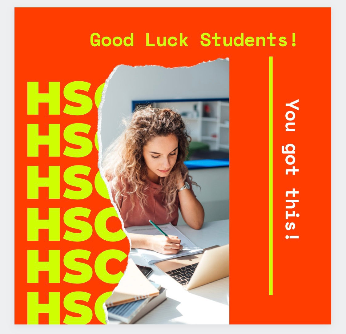 Good luck to all our HSC Students who have worked tirelessly for these exams. To my performing and music students - let your soul do all the work, go get em! #voice #hsc #exams #highschool https://t.co/DnM4qoCMo1