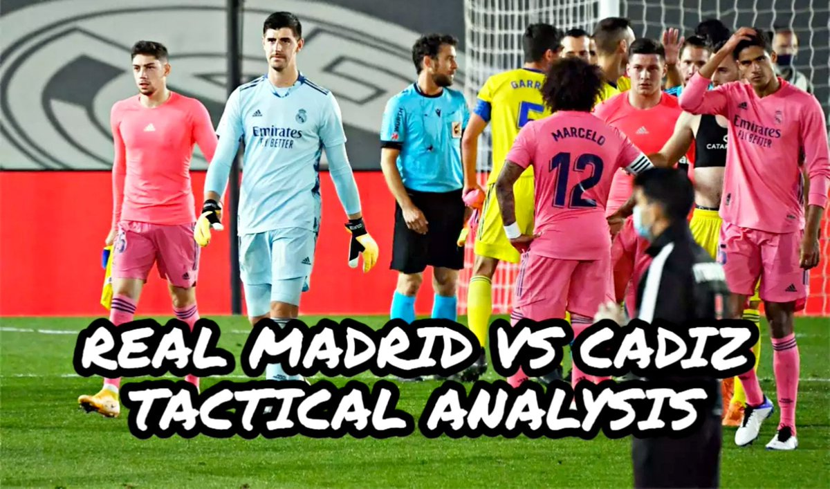 Tactical analysis of Real Madrid vs Cadiz.What went wrong tactics or team selection. All discuss in the video. https://t.co/eVwNt1FCni https://t.co/Tnq07CV9WY