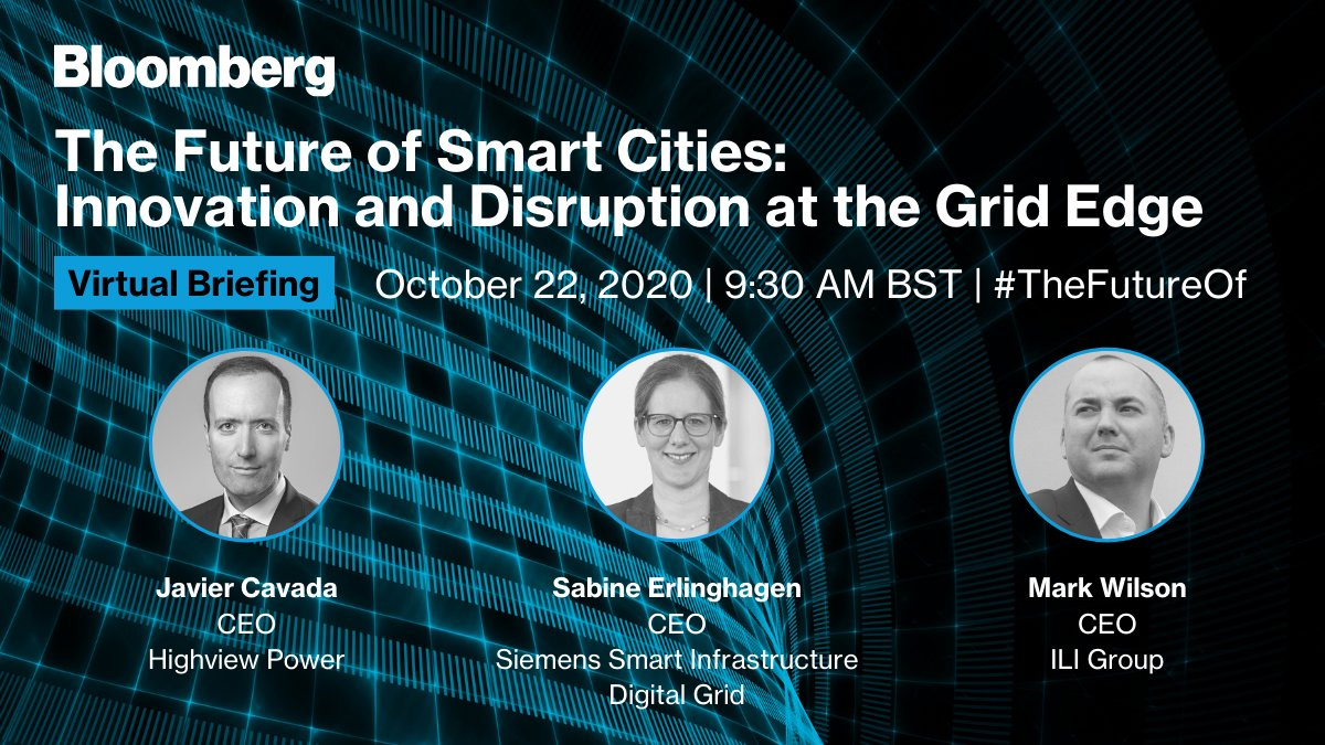 THURSDAY: How can digitization enable a new way for energy production, storage, and consumption to work together? At #TheFutureOf we're talking with @SiemensInfra's @SabineErlingha1, @HighviewPower's @JavierCavada_JC, and @ILIENERGY's Mark Wilson. https://t.co/G4NpMRX8cz https://t.co/MmBMnIjrj7