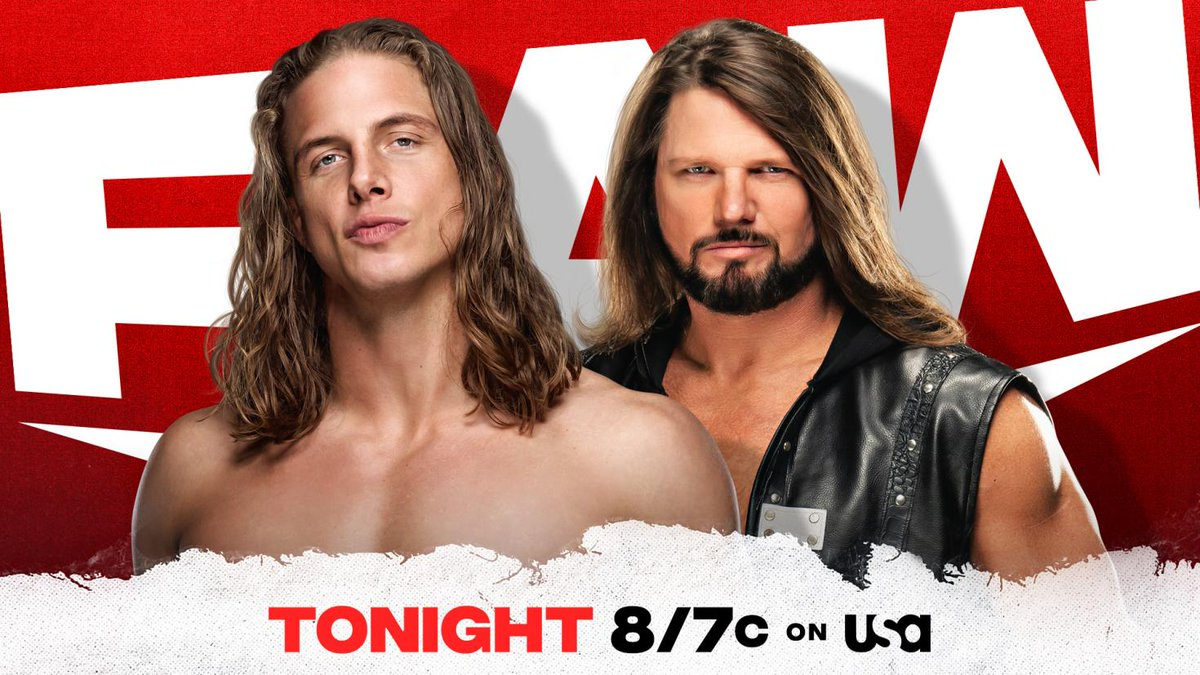 Three New Matches Announced for RAW