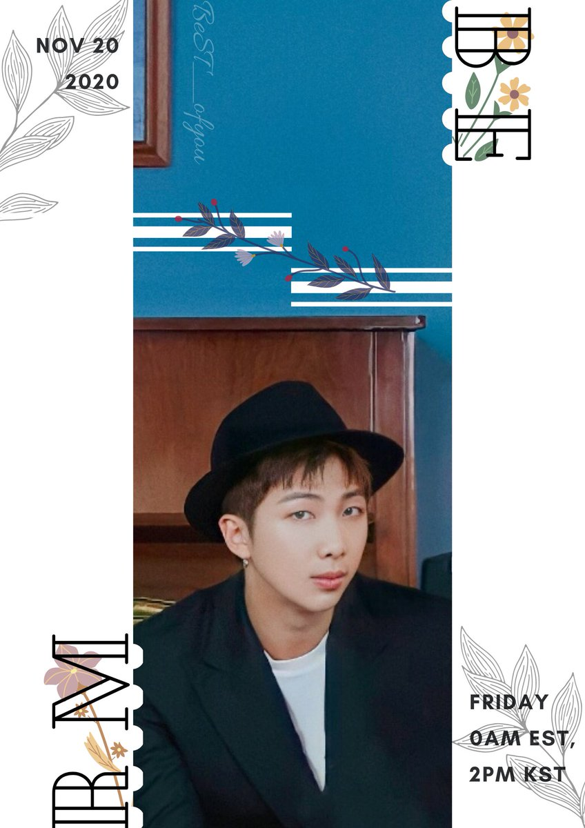--BE-- RM. version🤠 #RM #남준 #알엠 #방탄소년단 #BTS_BE @BTS_twt https://t.co/Clb86zgKZI
