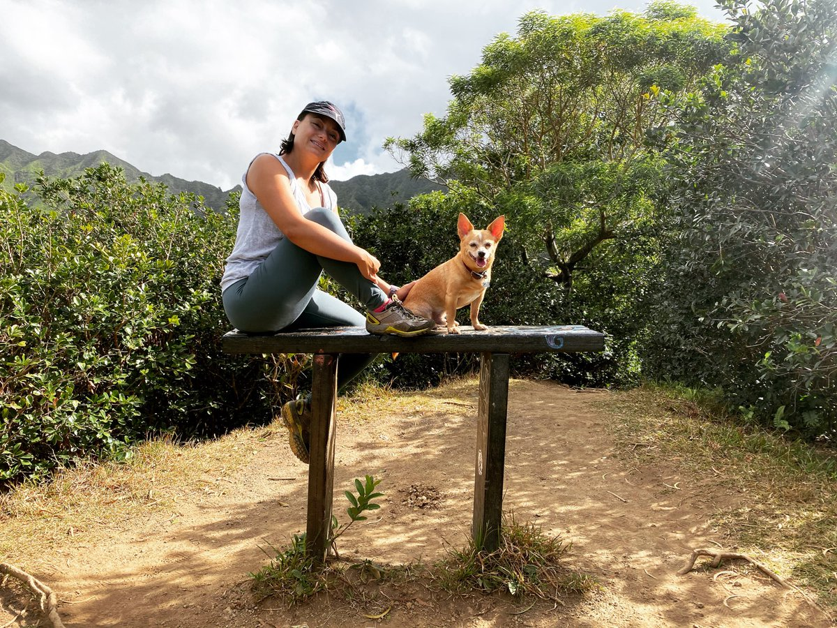 Living to be outdoors ⛰  Featuring Lucky 🐶  #hawaiihiking #trails #hawaii #hawaiitravel #traveler #outdoors #peaceful #tranquil #beauty #healthylifestyle #healthydancer #dancelifestyle #beautifulday #doglovers #doghike #bellydancehawaii #hawaiibellydance https://t.co/lWcmTCe9gz