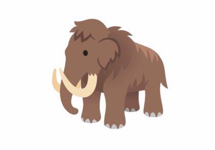 The woolly mammoth emojis are now pretty darn cool 👍 emojipedia.org/mammoth/