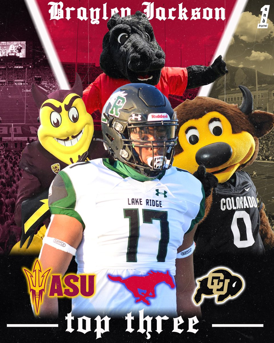 #AGTG I want to thank every school that has recruited me, I would like to announce my top 3🔛🔝