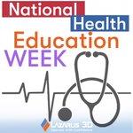 Image for the Tweet beginning: This week is #NationalHealthEducationWeek, learn