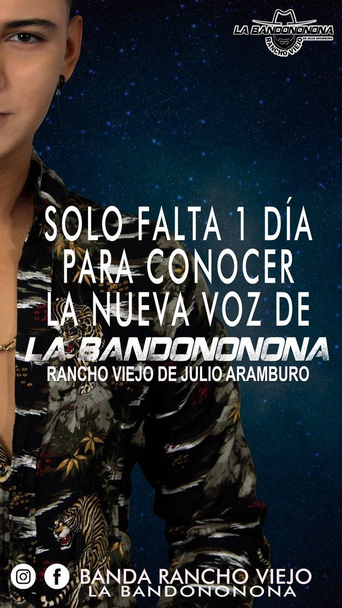 Mañana conocerás la nueva voz de la Bandononona... https://t.co/sKPyVsixZB