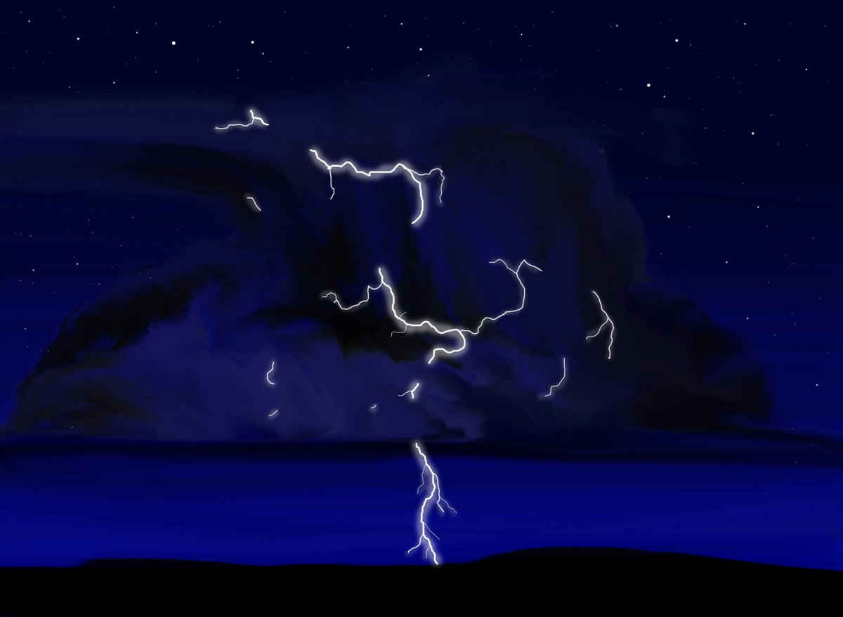 I drew this in 2010 when I had time to do things.  I will find time to draw a new picture one day #art #storytime #photoshop #StormFront #lightningstrikes #dream #NeverStopLearning #neverstopchasing https://t.co/VtpZQNMBvh