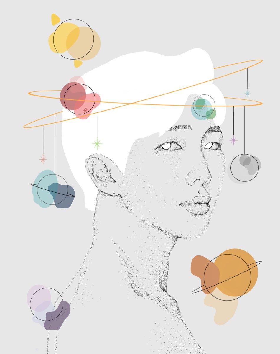 How does one art??? #bts #btsart #namjoon #jungkook #hoseok #seokjin https://t.co/GBPJ6Xgm8C