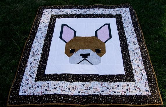 #adorable #Frenchie #ModernQuilt #frenchbulldog #Minky #Blanket What a great #Wedding, #Birthday, #holiday #mothersday #fathersday  or #Anniversary #Giftsforher #giftsforhim  #freeshipping to US https://t.co/T0BROavghd https://t.co/6meOa71wmC