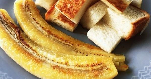 少し冷える朝にぴったり!「ホットバナナ」で一日をはじめよう