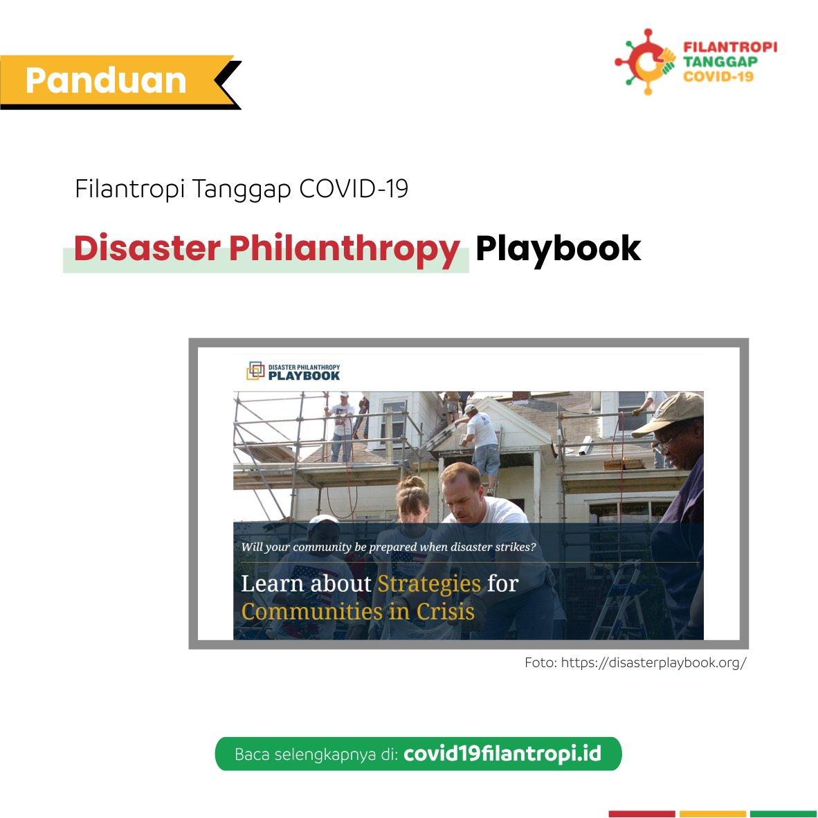 Disaster Philanthropy Playbook ini secara khusus ditujukan untuk lembaga filantropi dan donatur individu agar lebih strategis dalam investasi mereka dan menyadari pentingnya mendukung pemulihan jangka panjang untuk kelompok rentan.   #communities #philanthropy https://t.co/Ojvf5aCqeo