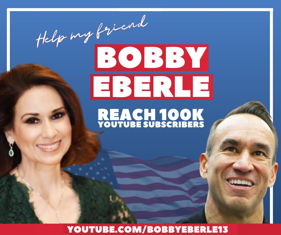 Check out Bobby Eberle's 13-Minute News Hour!  Let's help him get 100,000 subscribers by Election Day! @BobbyEberle13   Subscribe here —> https://t.co/7Y0VF1PU5v https://t.co/VgzpUZCjDJ