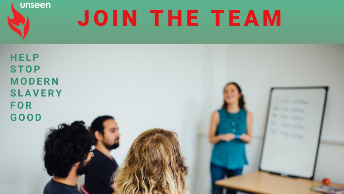 We have an exciting opportunity to become Unseens Training Coordinator based in Bristol or Bedfordshire, with regular travel. Theres still just time to apply by 5pm on Tuesday 27th October. Download the Job description and Application Form today from buff.ly/3kdcQsK