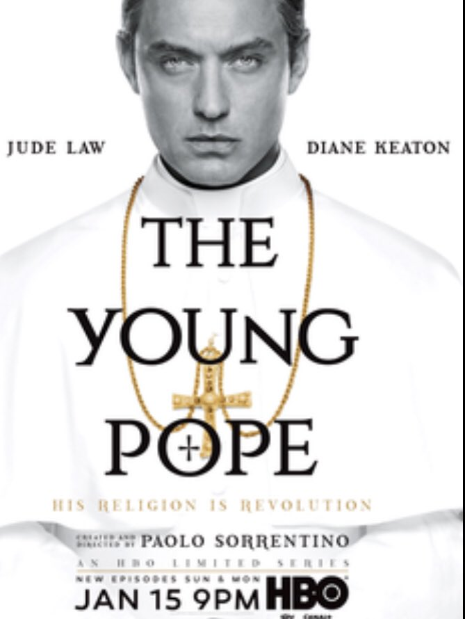 Ofcourse, this does not dminosh the fact that #theyoungpope was stunning as well. https://t.co/RjJ5XPb8lh
