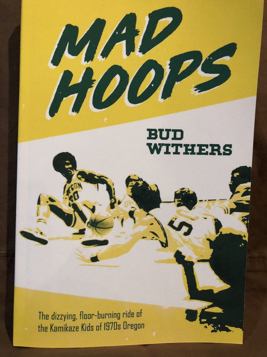 """Jay Bilas calls it a """"must-read"""" and I hope you'll agree ... my latest book is """"Mad Hoops,"""" on Dick Harter's beloved/reviled Kamikaze Kids of 1970s Oregon. Think a West Coast version of Bob Knight's Indiana, without the trophies ... get it on Amazon or through major bookstores."""