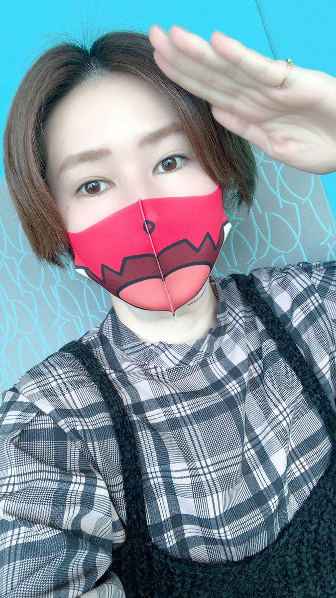 「HELLO! NEW HALLOWEEN! SHIBUYA」プロジェクトのマスクであーる!❤️#集まらないハロウィン#マスクで毎日ハロウィン#あたらしいハロウィンルシファー絶望の夜明けたのしみであーる🥺