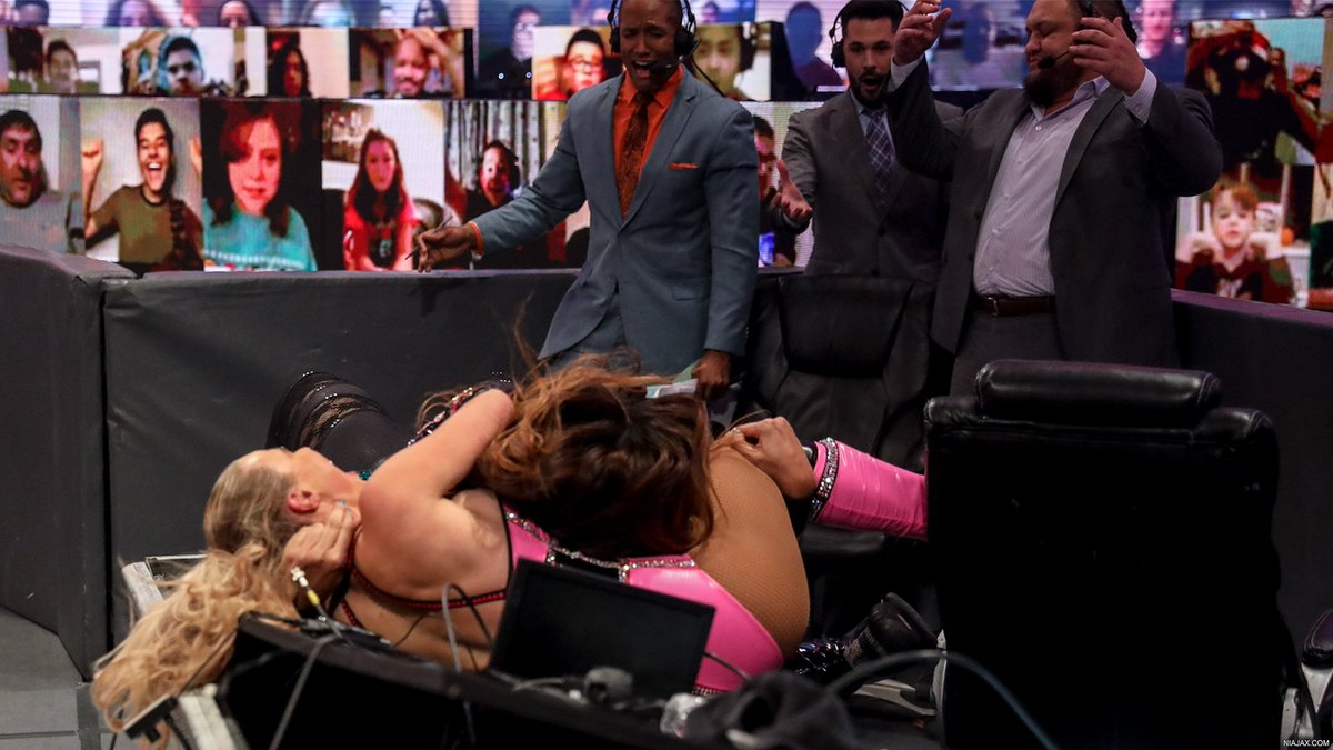 RAW October 19th, 2020 digitals have been added to the gallery: https://t.co/GQbfCk5hKH #NiaJax #IrresistibleForce https://t.co/tDjseo8ub6
