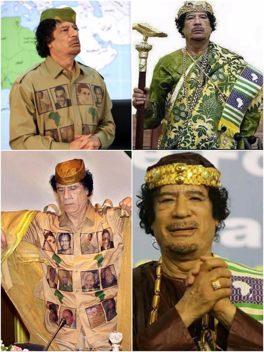 in memory of Colonel #MuammarGaddafi , Libyan president murdered by #Sarkozy #Nato,#USA & #CrookedHillary on Oct 20 2011 in #BaniWalid . #Libya https://t.co/oNoBVWhzsZ