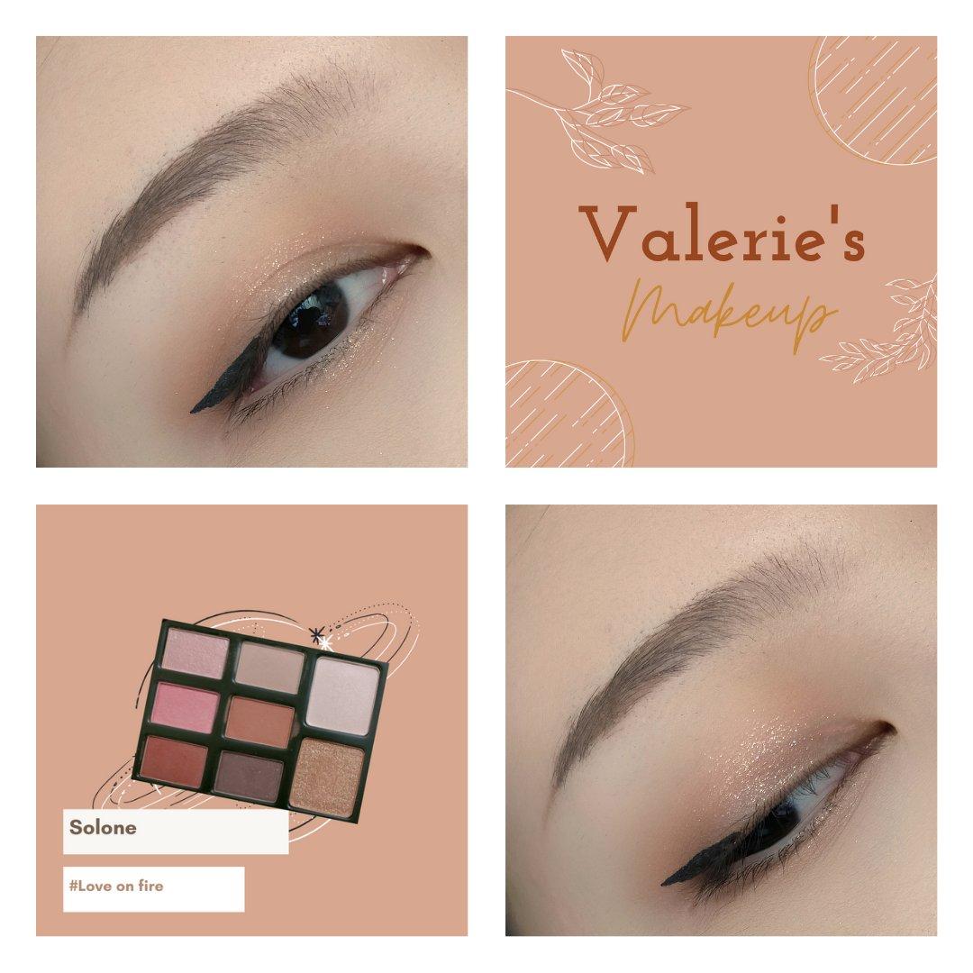 使用產品: Solone經典特調眼彩盒 # 如火狂戀 - #valerieeyemakeup - #makeup #eyemakeup #eye #eyeshadow #美妝 #彩妝 #眼影 #眼妝 #메이크업 #아이섀도우 #fashion #solone #soloneeyeshadow #soloneeyeshadowpalette https://t.co/SwQLJWPRyF