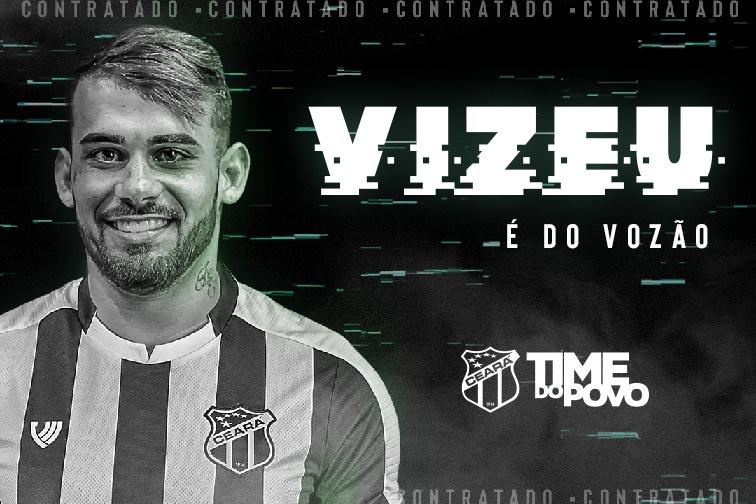 🇧🇷 #Ceará obtiene la cesión del delantero brasileño Felipe Vizeu (23   #Udinese) hasta junio de 2021. https://t.co/i0HSwGA3EO
