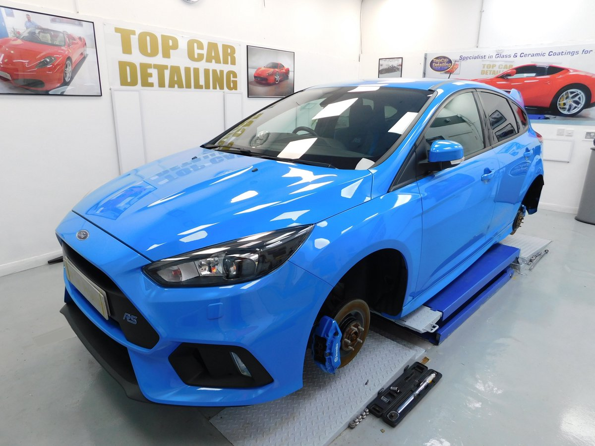 Lots of work to do on this fantastic Focus RS, catch you later  https://t.co/7FiJueh7DJ #detailing #carcare #cardetailing #paintcorrection #NorthWestHour #Manchester #Liverpool #Cheshire #Lancashire #Wirral @sthelenstownfc #detailing #focusRS https://t.co/ilE3iCuJGN
