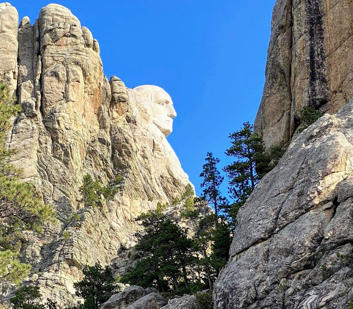 Love this perspective of Mount Rushmore in South Dakota USA. #huseonica https://t.co/GYX6MNQii8