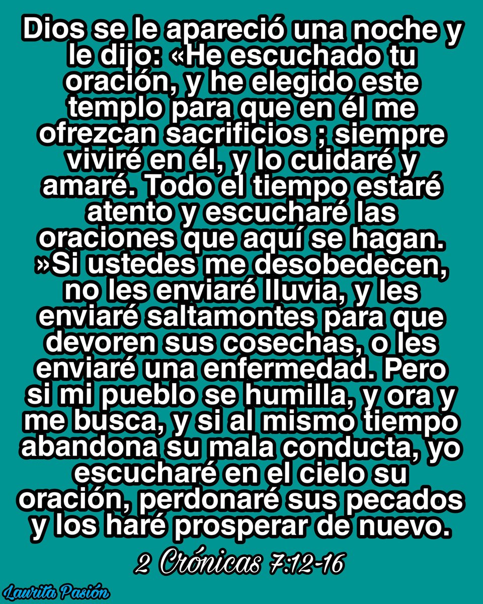 @Laurita_PASION #Jesus #Dios #oracion #catolicosdelmundo #catolico #amorcatolico #vatican #textos #beata #escritos #reflexion #jovenescristianos #Salesianos #jesus #amigos #catolicos   #frasescristianas #frasedeldia #Jesús #Dios #cristianos #god #frasecristiana #biblia https://t.co/m8RLhhwaYW