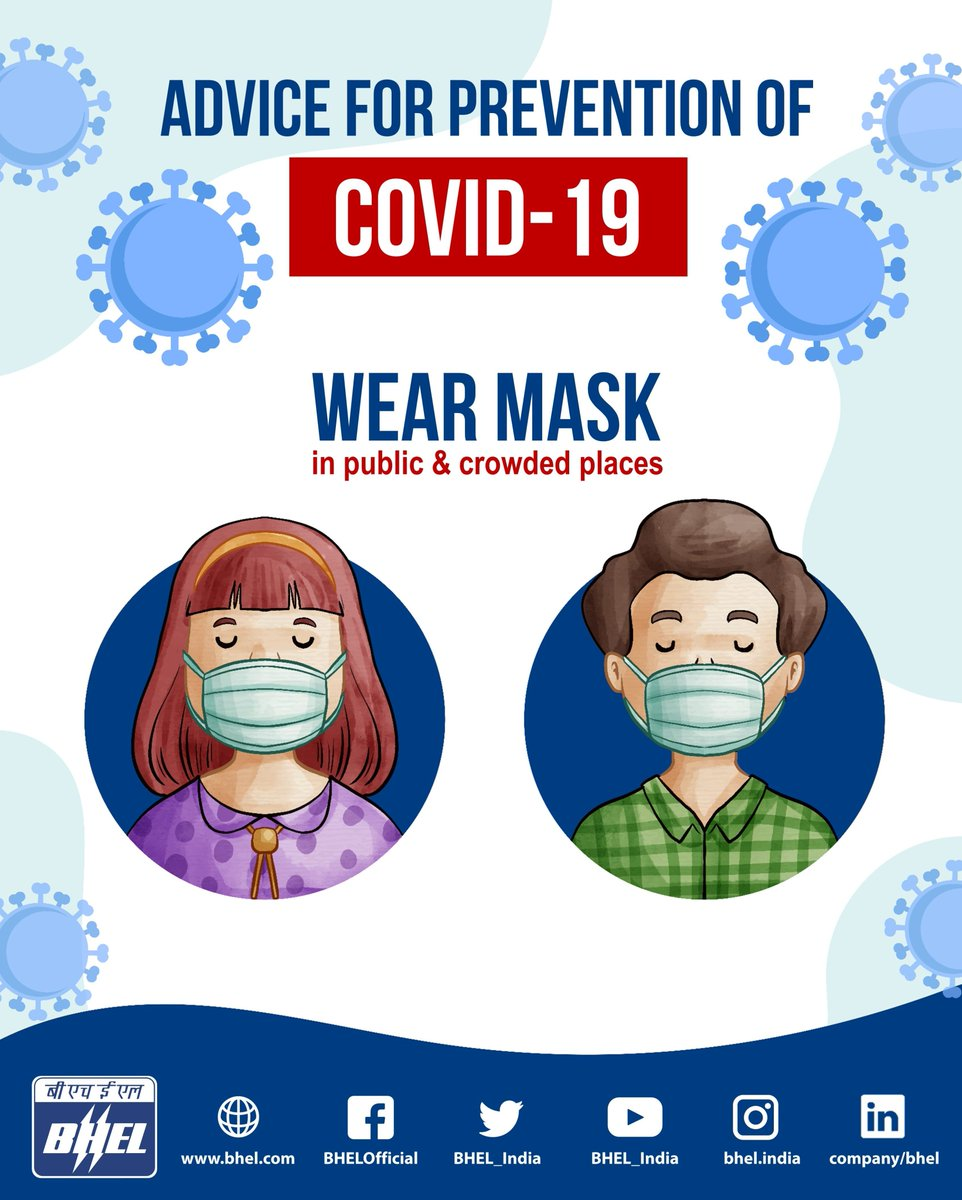 #WearAMask  as a preventive measure to stay protected from #COVID19  #JanAndolan #CovidAppropriateBehaviour #Unite2FightCorona https://t.co/0p0Fo1lB6R