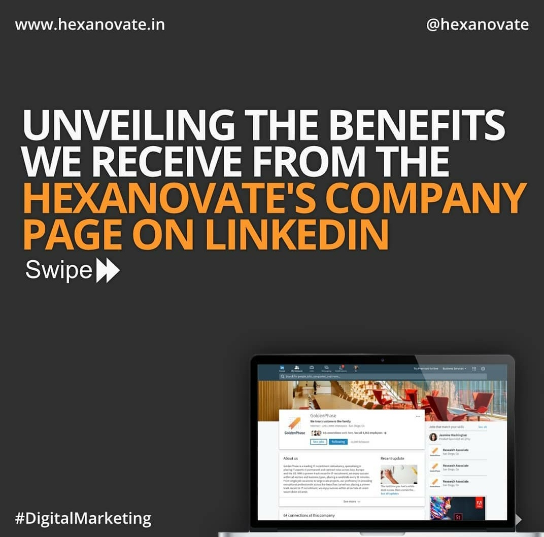 Benefits of Linkedin Company Page:-  1️⃣Branding  2️⃣Reaching to Organic Audience  3️⃣Insights for your content 4️⃣Find employee's for your company 5️⃣Get Connected with like minded people #LinkedIn #DigitalTransformation #digitalart https://t.co/2rxaHc0bWM