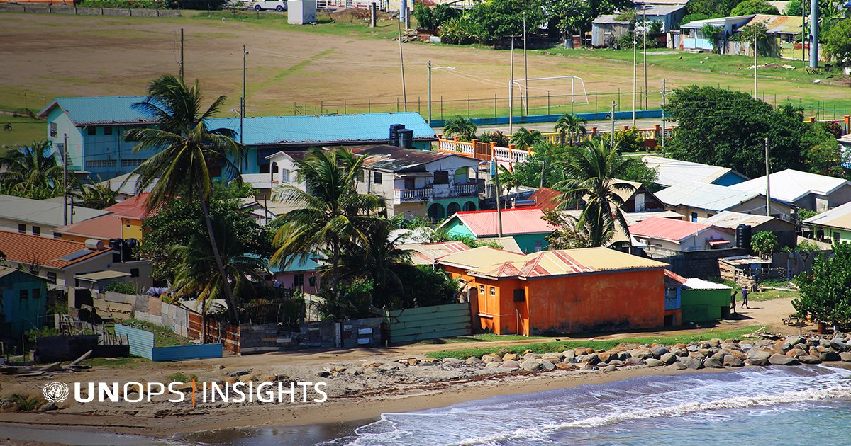 Infrastructure & sustainable development go hand in hand. That's why we're helping Small Island Developing States ensure their infrastructure stands the test of time: https://t.co/bhqtOZDzEc | #UNOPSInsights https://t.co/egtUDiieLh