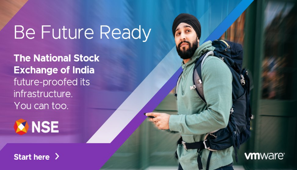 Time is the ultimate commodity when it comes to trading. That's why the National Stock Exchange of India implemented a scalable, flexible infrastructure to power its growth.  Prepare your business for what lies ahead with VMware: https://t.co/CkavFjqVwT https://t.co/rQOBDx0mdQ