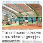 In #AD Amersfoort: Trainen in semi-lockdown is puzzelen met groepjes. Dat geldt ook voor de korfbalclub @KCAntilopen en @ckvODIK