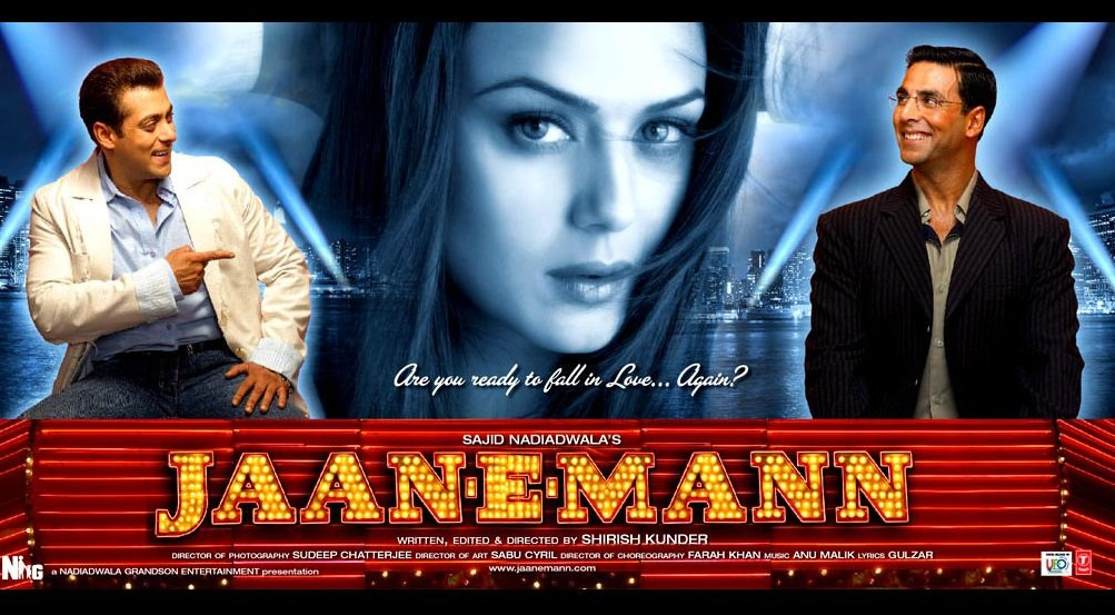 #14YearsOfJaanEMann - my first film as a Director.  Heavily criticised when released. Started getting some love after ten years when La La Land released. Hoping history will be kinder.  For those who might have missed this film, it's now streaming on Amazon and Netflix.