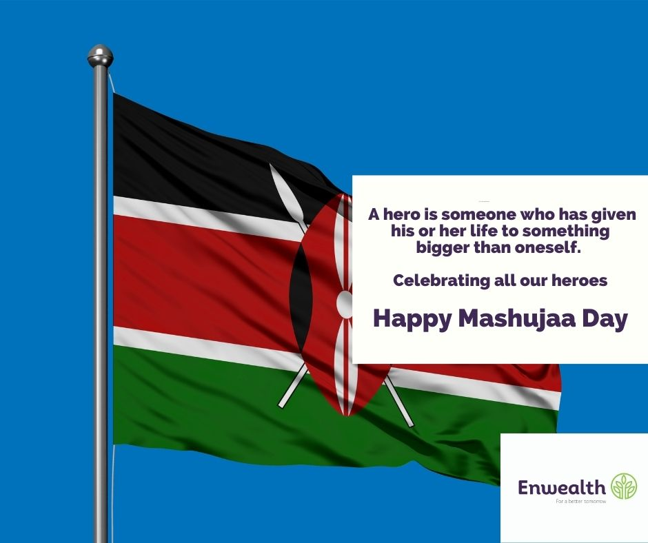 Happy Mashujaa Day  I think a hero is an ordinary individual who finds the strength to persevere and endure in spite of overwhelming obstacles. Christopher Reeve  #HappyMashujaaDay #forabettertomorrow https://t.co/065OXIjAf1