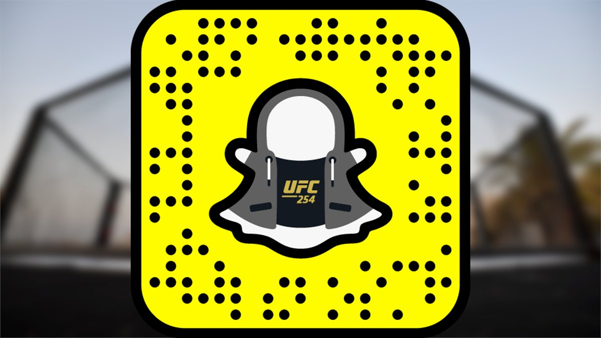 Our latest @Snapchat filter is here!   📲 Try it out now:   [ #UFC254 | #InAbuDhabi | @VisitAbuDhabi ]
