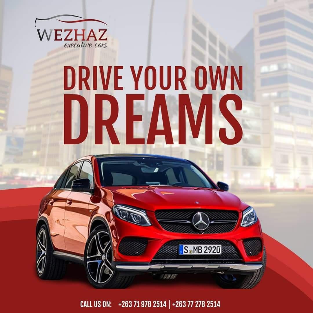If you can dream it, we can help you drive it. #wezhazexecutivecarsales places your dreams on wheels to your destination. #brandpower #brandsuccess @MasvingoTourism @Mavhure @Duhunye @ZimTradeAlerts @IOD_Zimbabwe @EsteemCommunic1 @KhiamaB