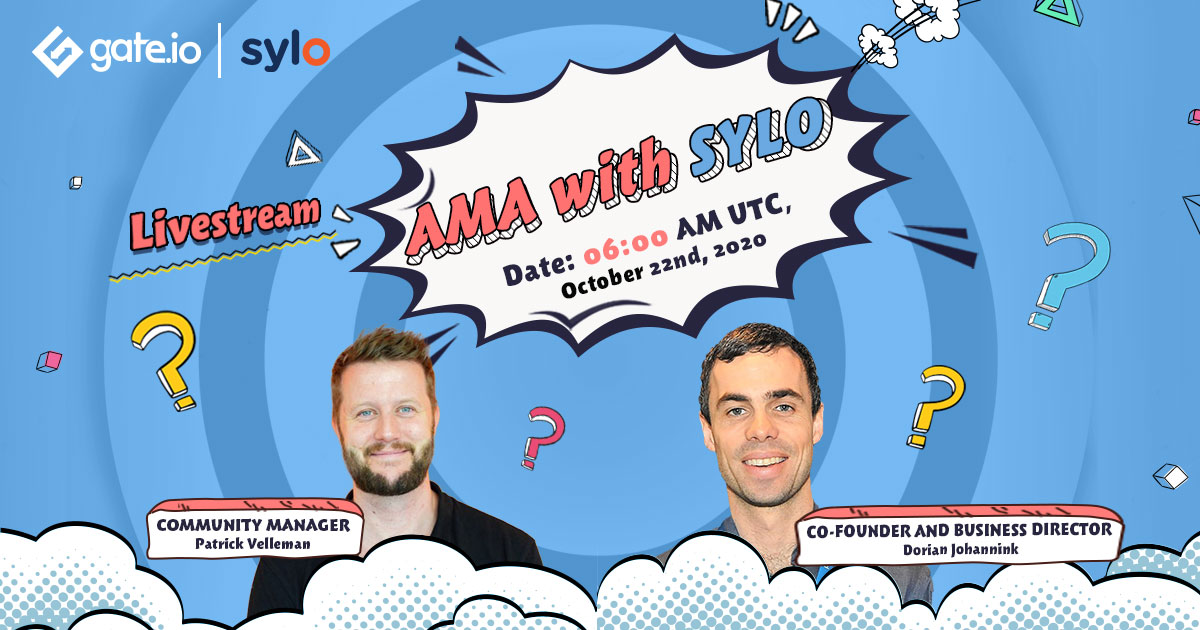 "🗣️After listing @sylo, we are super excited to announce we are hosting an AMA with Cofounder of #Sylo, @dorianjohannink 😎  Together with @patrickvelleman, they will delve right into the essence of their ""Smart money"" ecosystem  👉👀Thursday, 06:00 AM UTC https://t.co/HBE2WuYoew https://t.co/zkUfNFrtTf"