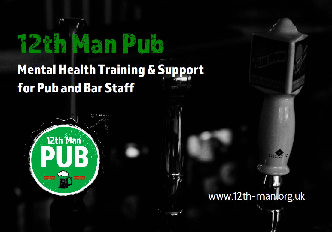 Cost-free Mental Health First Aid training for #Pub and #Bar Staff in #Norfolk, #Suffolk, #Cambridge and #CheshireEast https://t.co/hROqYp5bn5 https://t.co/oKfN0bapNu